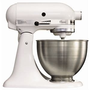 KitchenAid K45 Mixer White