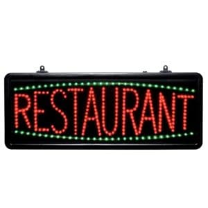 LED - Restaurant - Display Sign