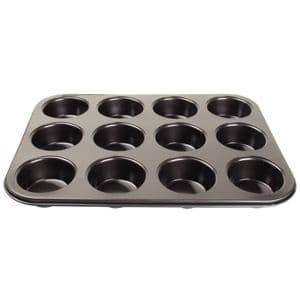 Muffin Tray 12 Cup C/Steel