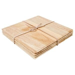 Placemats Light Wood