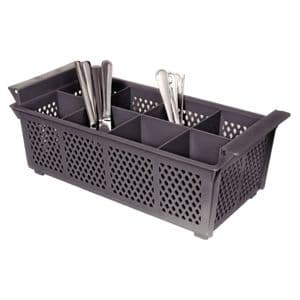 Plastic Cutlery Basket 8 Compartment