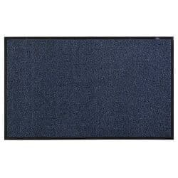 Rubber Backed Floor Mat 6'x4' Blue (130x180cm)