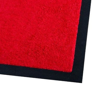 Rubber Backed Floor Mat 6'x4' Red (130x180cm)