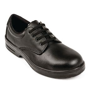Safety Lace-up Shoe Black.