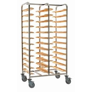 Self Clearing Trolley - Double