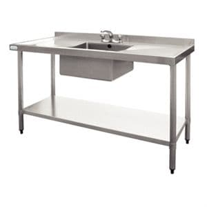 Stainless Steel Sink Double Drainer 1500mm