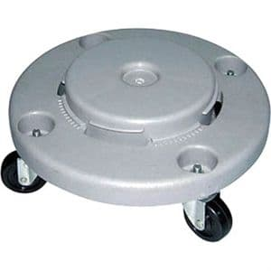 Strong Plastic Dolly for 80Ltr Bin