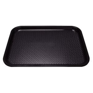 Trays: Fast Food Tray Black