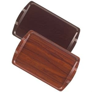Trays: Room Service Walnut