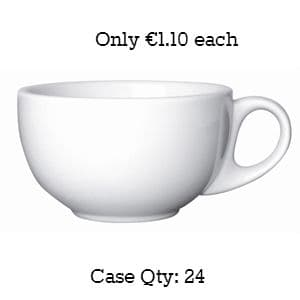 """Value Ware Cup Cappuccino Saucer 5.5"""""""