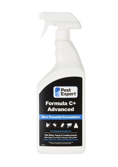 Pest Expert Formula C Flea Spray 1Ltr. Pest-Expert.com