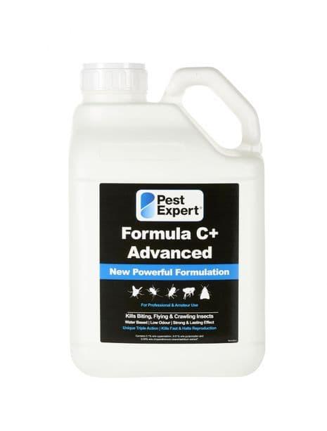 Pest Expert Formula C+ Silverfish Spray 5Ltr