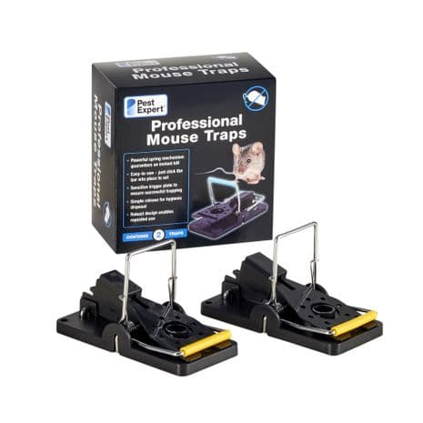 Pest Expert Professional Mouse Trap (Twinpack)
