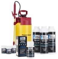 Pest Expert Ultimate Cockroach Killer Spray (10L), 3 x Powders & 3 x Smoke Bombs (11g) & Sprayer