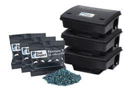 Rat Poison Kit 3 (with 6kg Pest Expert Formula 'B' Rat Killer)