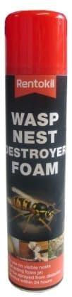 Rentokil Wasp Nest Destroyer Foam. Pest-Expert.com