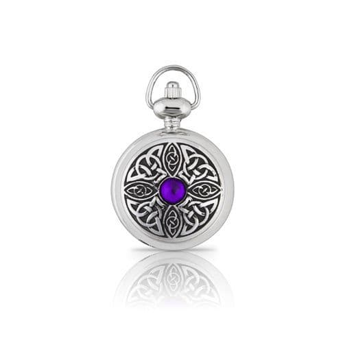 Celtic Knot with Stone Ladies Watch