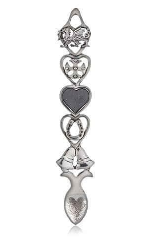 Dragon and Bells Slate Lovespoon