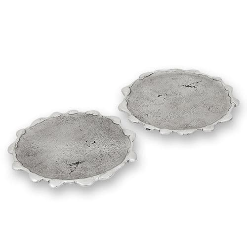 Drip Edge Coasters (Pair)