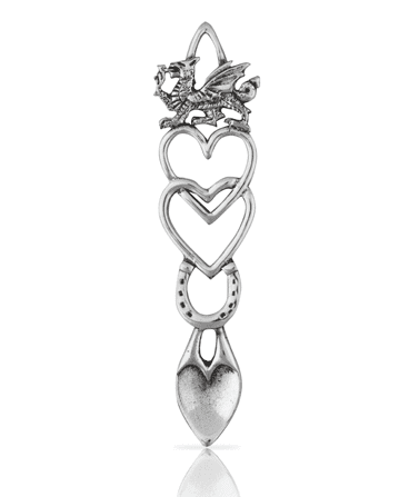 Entwined Hearts Lovespoon