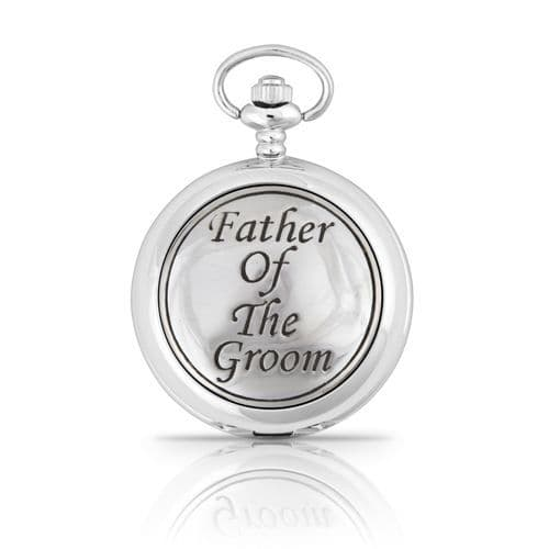 Father Of The Groom Mechanical Pocket Watch