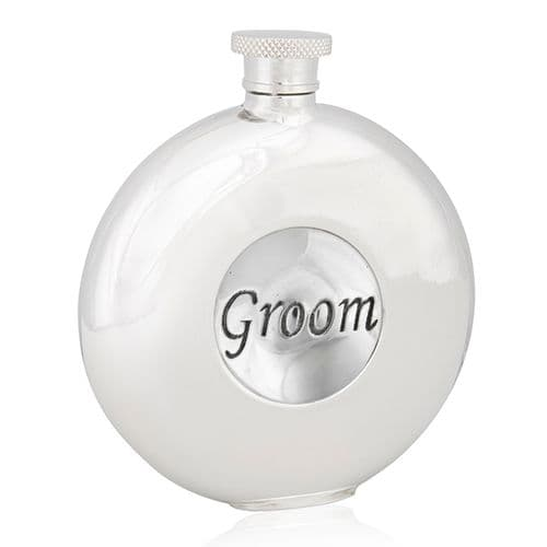 Groom Round Flask