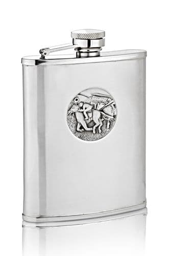 Horse Racing Hip Flask