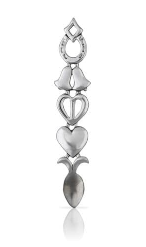 Open Heart and Bell Lovespoon