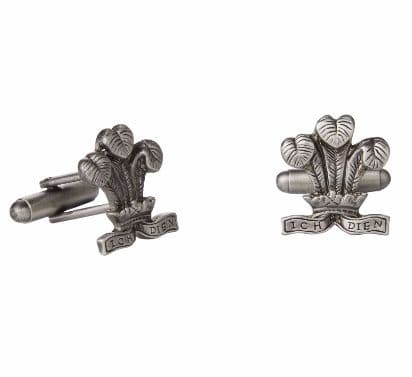 Prince of Wales Feathers Cufflinks