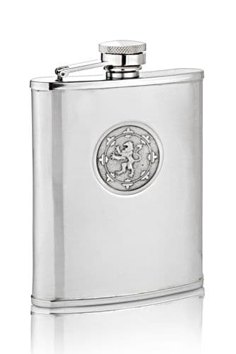 Rampant Lion Hip Flask