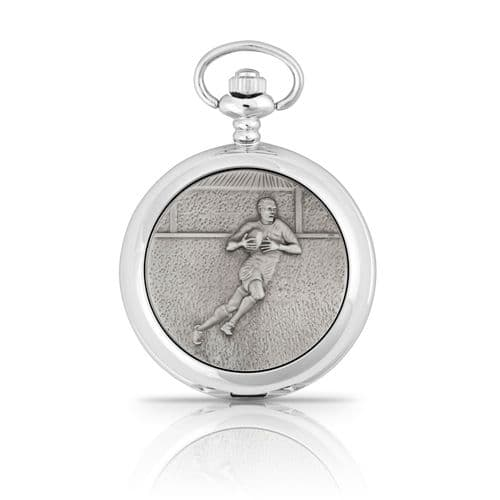 Rugby Mechanical Pocket Watch