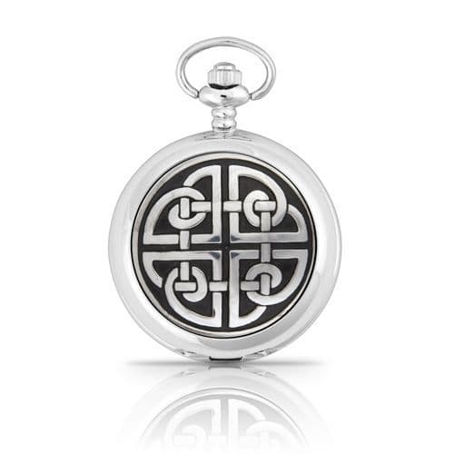 Square Knot Mechanical Pocket Watch