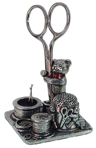 Teddy with Bow Sewing Station