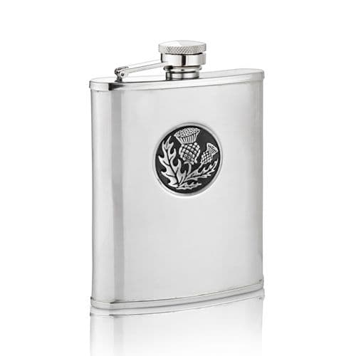 Thistle Hip Flask