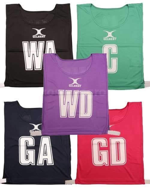 Gilbert Netball Bib (Set Of 7)