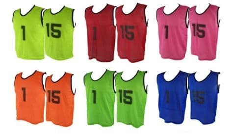 MESH BIB SET No. 1-15 Senior Size