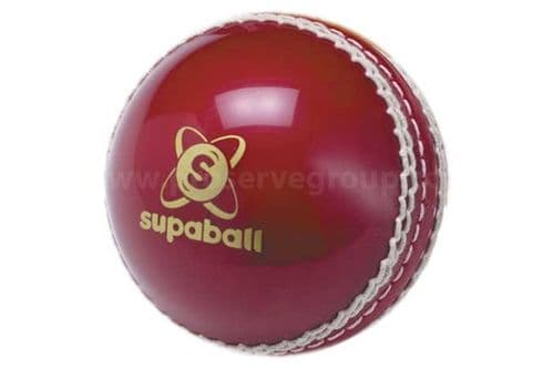 Practice Synthetic Cricket Ball (Soft Seamed Red)