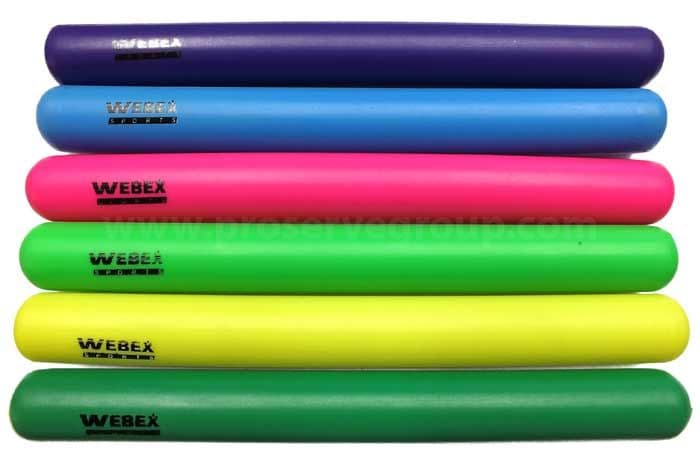 Webex Junior Relay Plastic Batons (set of 6)