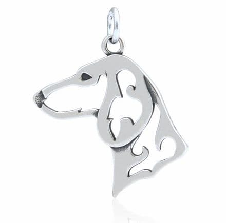 Dazzling Paws Dachshund Daxi Smooth-Haired Head Charm