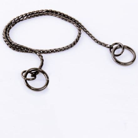 Dog Show Snake Chains - Anthracite