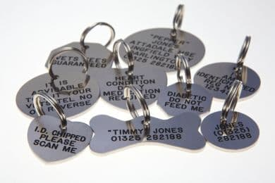 Nicron Pet / Dog ID Identification Tags