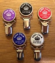 Ring Clips: Keep Calm
