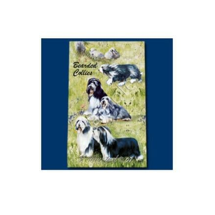 Ruth Maystead Best Friends Rollerball Pen - Bearded Collie