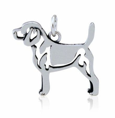 Solid Silver Dazzling Paws Beagle
