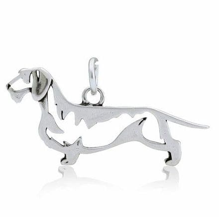 Solid Silver Dazzling Paws Dachshund Wire Haired
