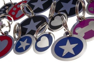 Styled Pet / Dog ID Identification Tags