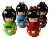 Kokeshi doll money boxes