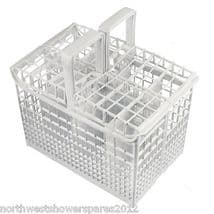 Genuine Hoover Candy Hotpoint  White Dishwasher Cutlery Basket 41027980 NR