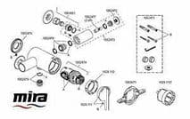 Mira Element/Silver inlet elbow assembly 1062473