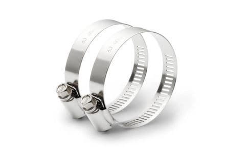 """Stainless steel hose clamp 1 1/2"""" to 2"""""""